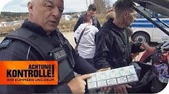 Zigarettenschmuggel an der Grenze: Was findet die Polizei alles?   Achtung Kontrolle   kabel eins