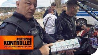 Zigarettenschmuggel an der Grenze: Was findet die Polizei alles? | Achtung Kontrolle | kabel eins