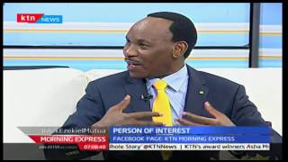 Morning Express: Ezekiel Mutua talks of his time with Hon. Mulu Mutisya, 18/10/16