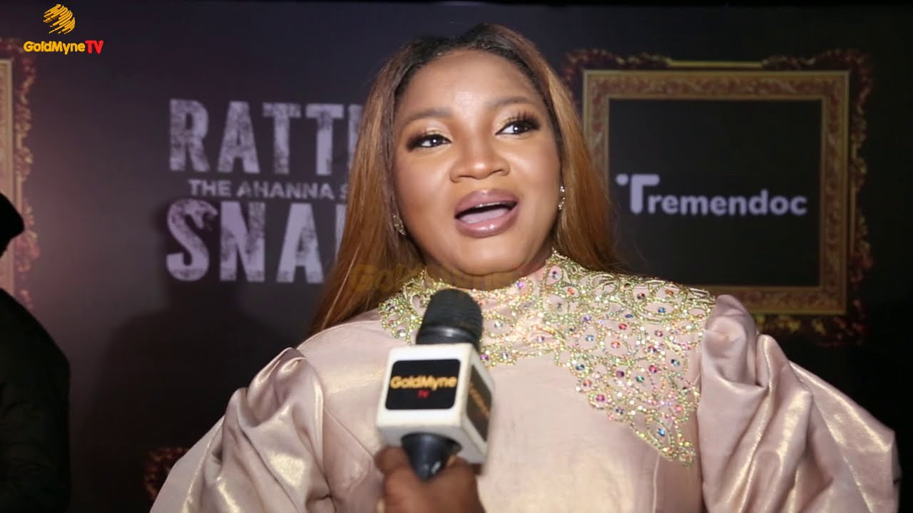 Download OMOTOLA SPEAKS ABOUT HER APPEARANCE  IN 'RATTLESNAKE THE AHANNA STORY'