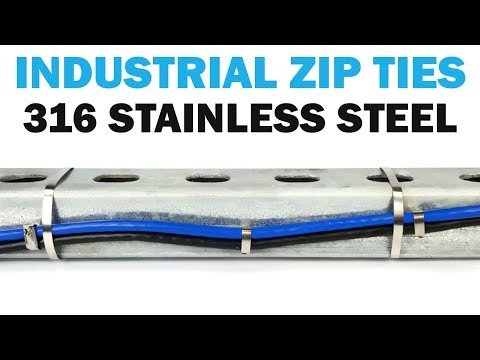 How To Use Stainless Steel Cable Zip Ties | Fasteners 101