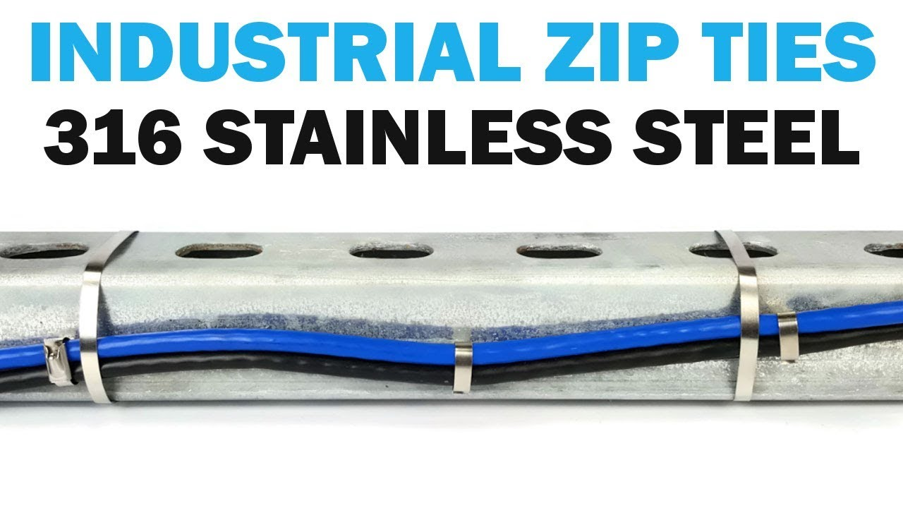 Amazing How To Use Stainless Steel Cable Zip Ties   Fasteners 101