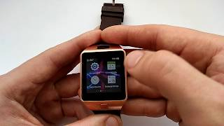 Умные смарт часы DZ09 smartwatch обзор, настройка, инструкция на русском, характеристики, отзывы