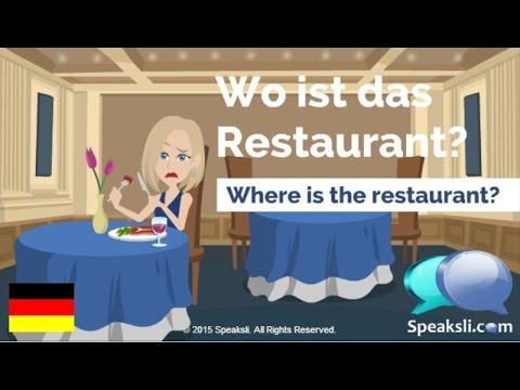 Food and Drinks in German   Learn German   Speaksli