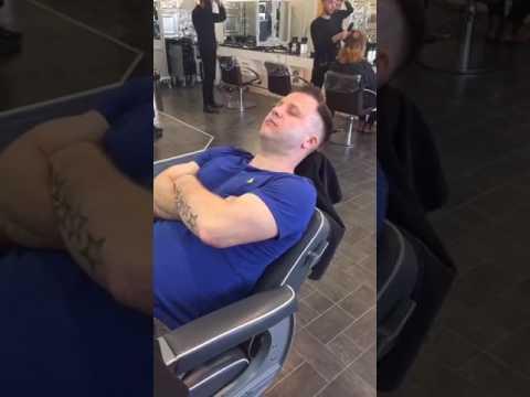 Asmr shave haircut harry