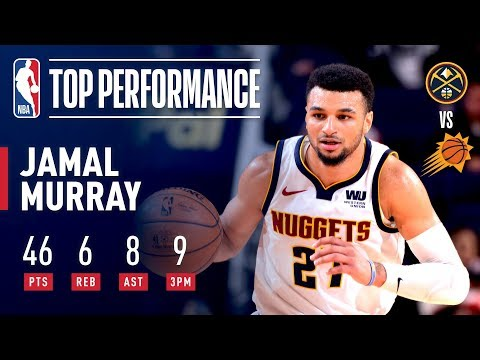 Jamal Murray Goes Off For 46 Points In Phoenix! | December 29, 2018 thumbnail