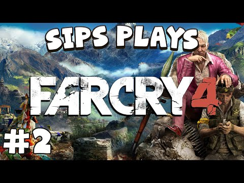 Sips Plays Far Cry 4 - Part 2 - Falconry 101