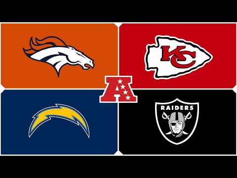 2017 AFC West Preview and Predictions - The Anthony James Show