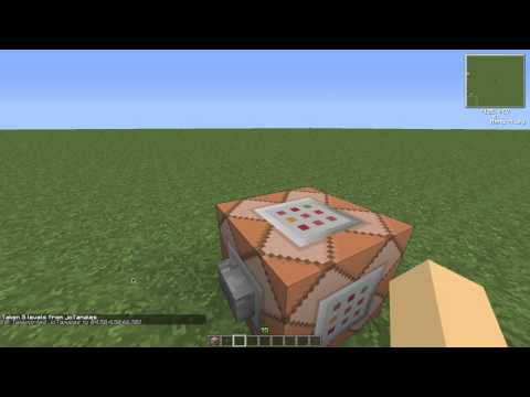 Minecraft Tutorial: How to make a force field using command blocks
