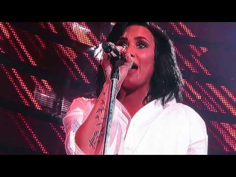 [Demi Lovato] on Rodeo Houston full concert
