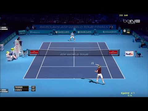 Tennis Elbow 2013   ATP Worlds Tour Finals 2017   Groupe Becker   Federer vs Zverev
