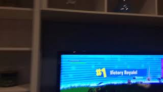 I got a victory royale in Fortnite