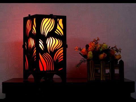 #Ascension #DIY Contemporary Design Wooden Square Shape light