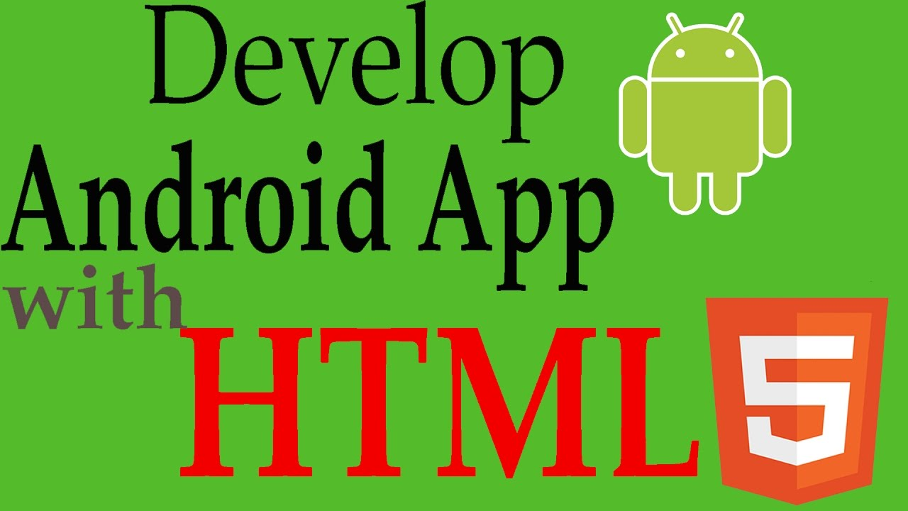 Android Application With HTML,CSS,JS | Android Studio Tutorial ...