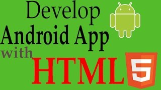 Android Application With HTML,CSS,JS | Android Studio Tutorial (Beginners) HD | All About Android