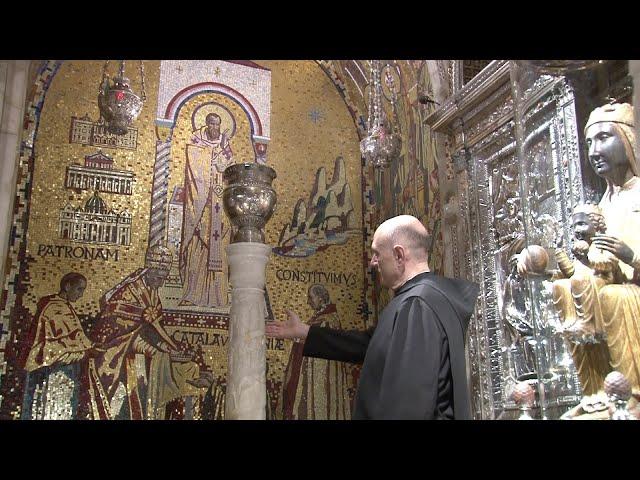Descobrim Montserrat: Els mosaics del Tron de la Mare de Déu de Montserrat