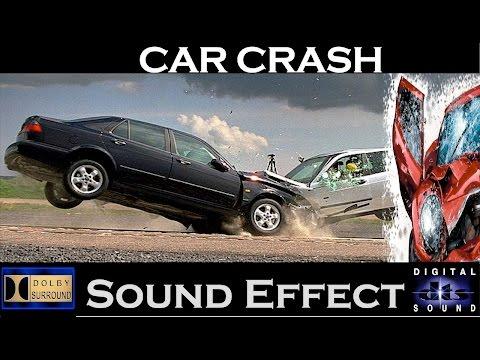 Car Crash Sound Effects ➡ Realistic Car Crash Sounds - YouTube