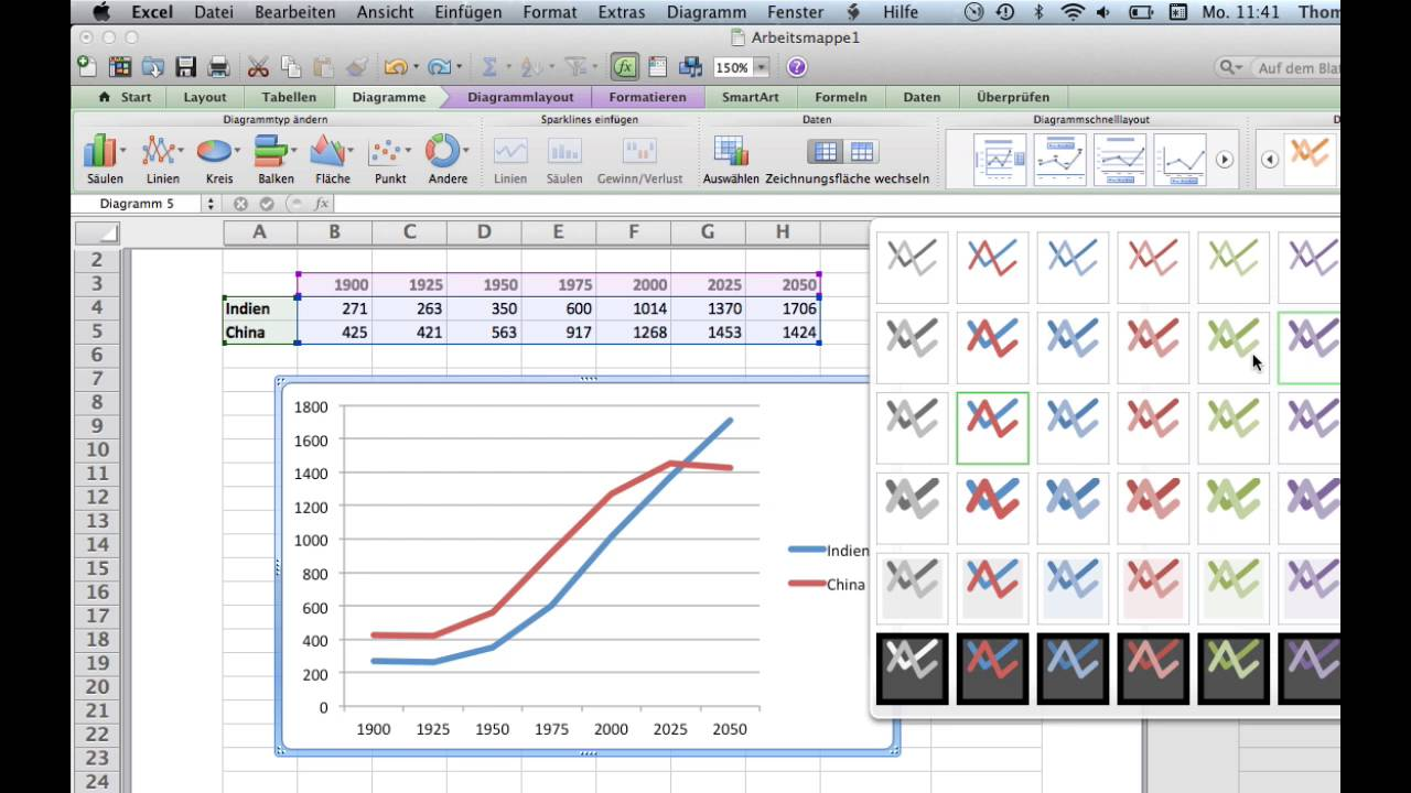 Kurs Microsoft Excel 2011 Mac  32 Tabellenkalkulation