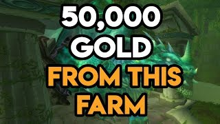 World Of Warcraft 50,000 Gold With This Farm