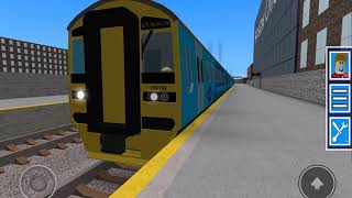 THE CLASS 158 HAS BEEN READDED! Departure at Minstow Low ROBLOX Grand continental railways