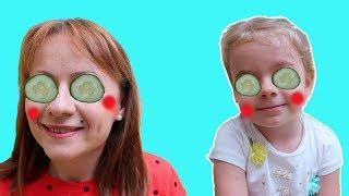 Mama si Anabella s-au imbolnavit   Fun story for kids   Bogdan Show