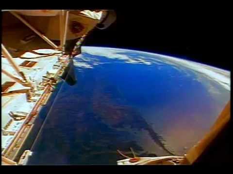 Breathtaking Space Shuttle Earth View of Gulf of Mexico and Florida
