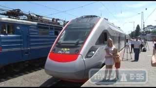 Одесса, новый скоростной поезд «Киев- Одесса»(, 2014-07-01T12:45:24.000Z)