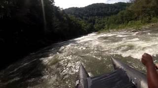 Ocoee River Whitewater, Sunburst Adventures - Shredder Fun!