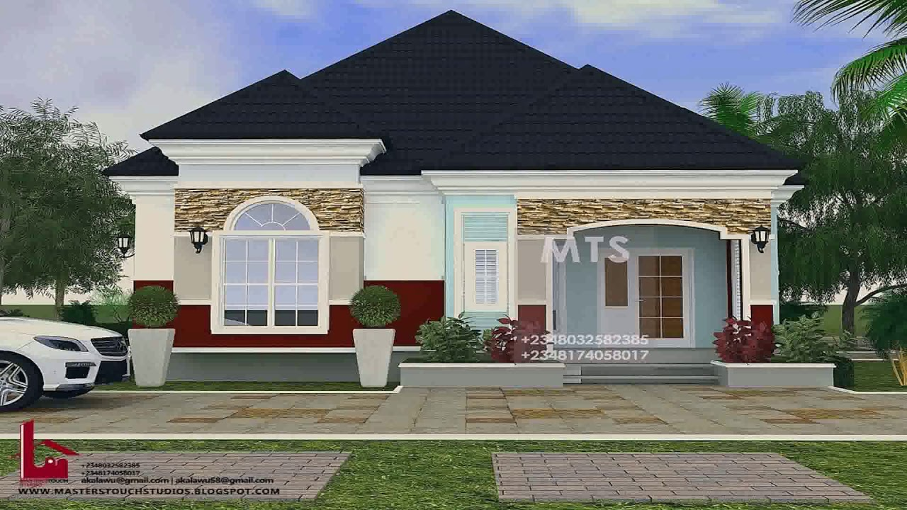 3 Bedroom Bungalow House Designs In Nigeria Gif Maker