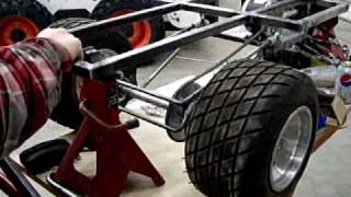 Home Made Giant Scale Rc Car #2, Rear Suspension Movement Test