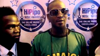 Jb of Klear Kut  ~ at HiPipo Music Awards, 2013