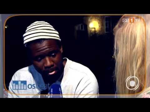 Chima im Interview in Osnabrück über seine Single