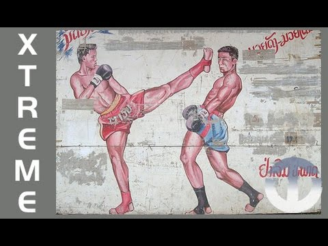 Brutal Sport of Muay Lao Kick Boxing