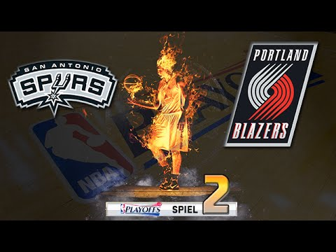 Let's Play NBA 2K16 Deutsch German [345] - Playoffs: Game 2 (vs. Portland Trail Blazers)
