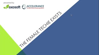 She's Not A Myth:  The Female Techie Exists Webinar
