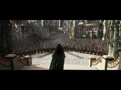 Thor ragnarok:Hela vs asgard army!!
