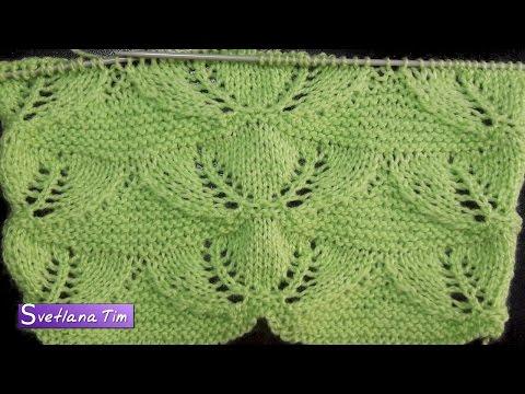 схемы вязания спицами и описанием