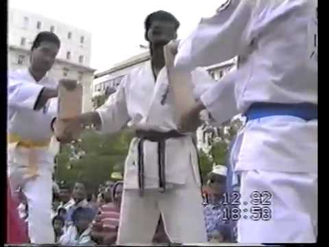 1992 Twilight Team Fun Run Ashihara Karate demo