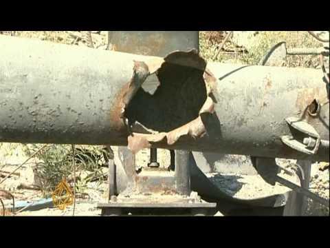 Israel's blockade causes water crisis in Gaza - 14 Sept 09