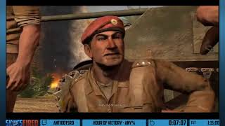 Hour of Victory (Any%) in 55:26 by Antidotsrd - Shots Fired: Overkill