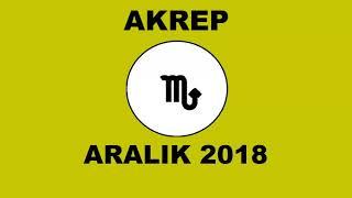 ARALIK 2018 - AKREP BURCU YORUMU