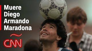 Muere Diego Armando Maradona, el D10S del fútbol argentino