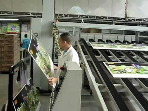 Flexo Printing Machine - coated corrugated cardboard printing