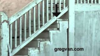 Exterior Wood Stairway Repair, Creates Safety Hazard
