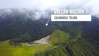 Volcan Machín, un león dormido