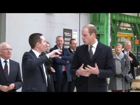 Visit of HRH The Duke of Cambridge to Bombardier Derby