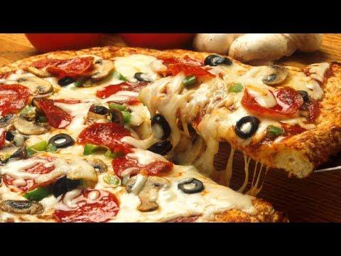 طريقة عمل البيتزا الناجحة خطوة بخطوة بكل تفاصيلها هشة ومضبوطة 100\100