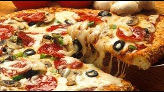 طريقة عمل البيتزا خطوة بخطوة بكافة التفاصيل هشة و مضبوطة 100/100