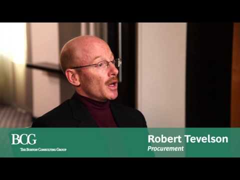 BCG's Robert Tevelson on Procurement