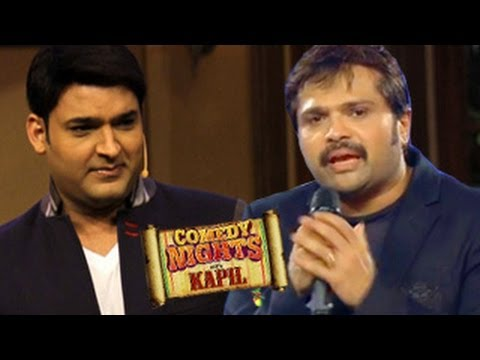 Kapil Sharma with Himesh Reshammiya on Comedy Nights with Kapil 20th April ...